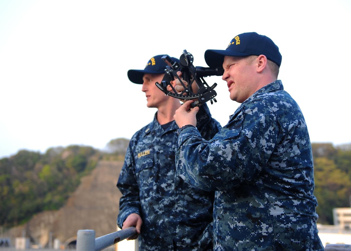 Junior Officers Gain Valuable Experiences on MSC Bridge