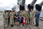 DLA Maritime Pearl Harbor Sailor reenlists aboard USS Missouri