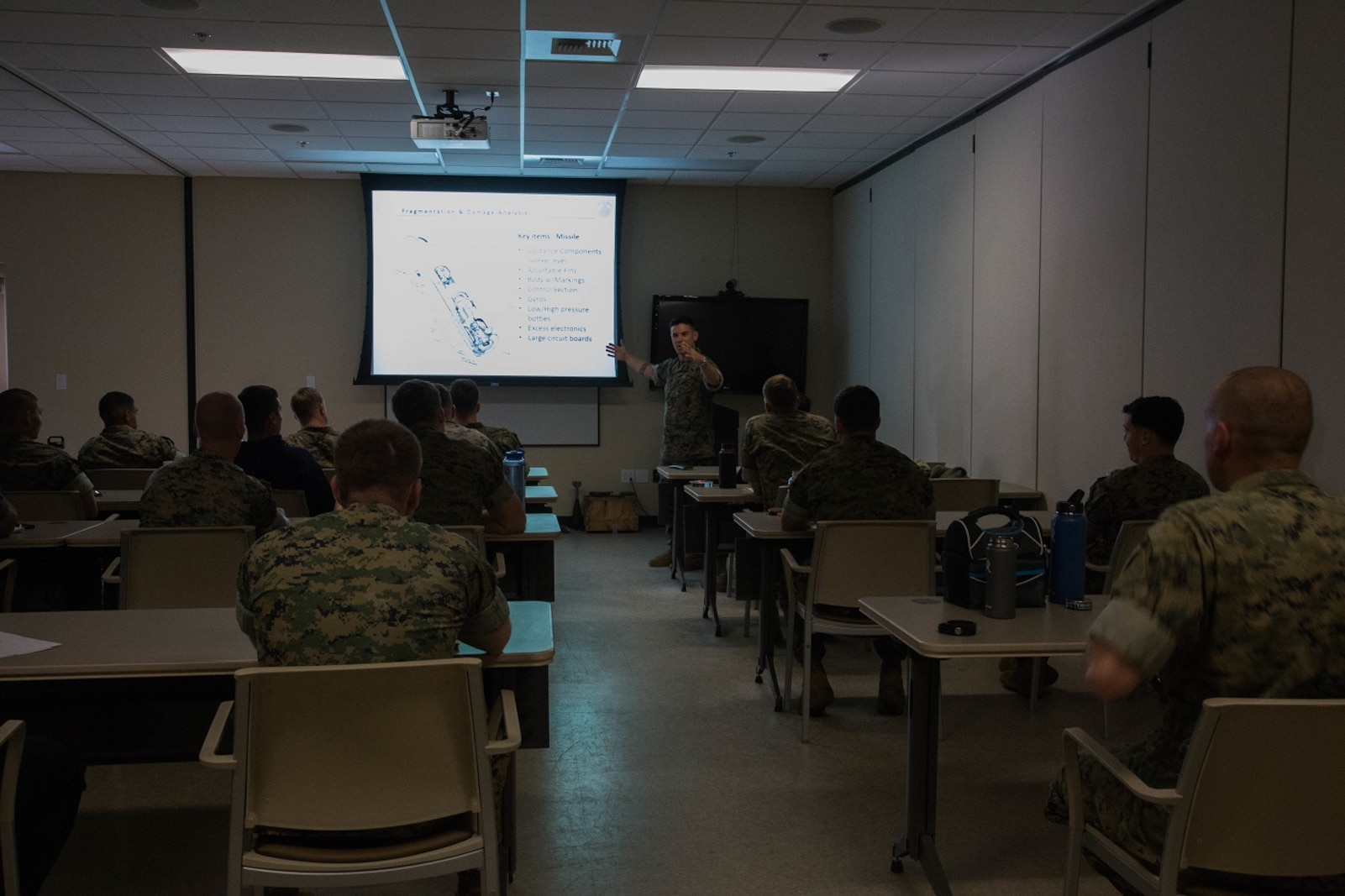 Post-Blast Analysis Course