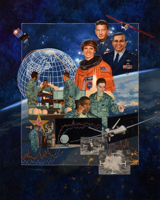 Air Force Reserve Heritage art
