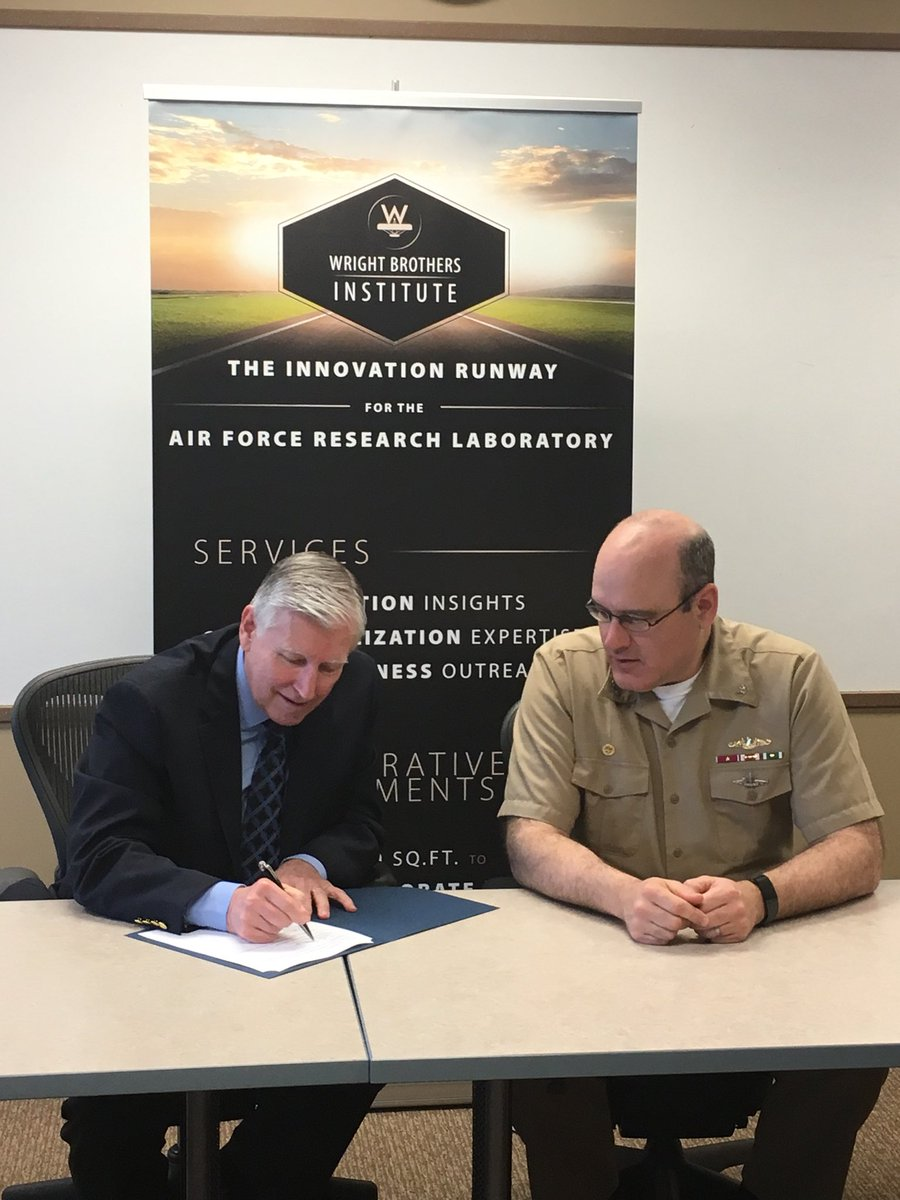 Nswc Crane And Wright Brothers Institute Sign New Partnership