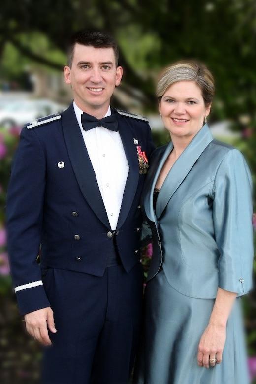 Lt. Col. Don Christy (left) died by suicide, Kristen Christy