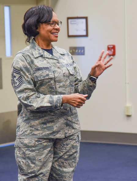 State Command Chief Makes Final Official Visit