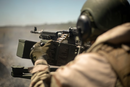 Marines with Alpha Company, 2nd Light Armored Reconnaissance (LAR) Battalion, 2nd Marine Division conducted annual gunnery qualification training at Camp Lejeune, North Carolina, April 20-25, 2018.