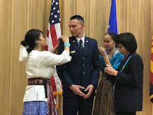 Air Force ROTC commissions Navajo Nation member
