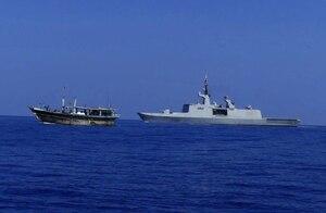 Marine Nationale frigate La Fayette