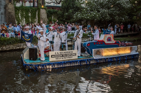 2018 Texas Cavalier River Parade Gt Joint Base San Antonio