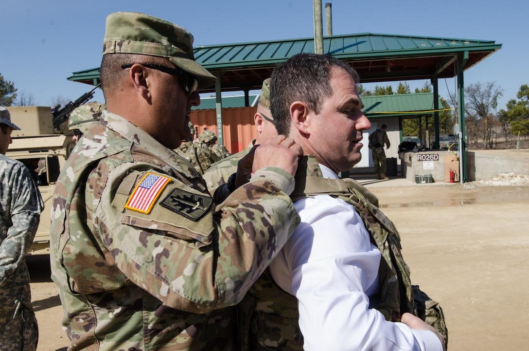 Army Reserve Ambassadors visit Cold Steel II