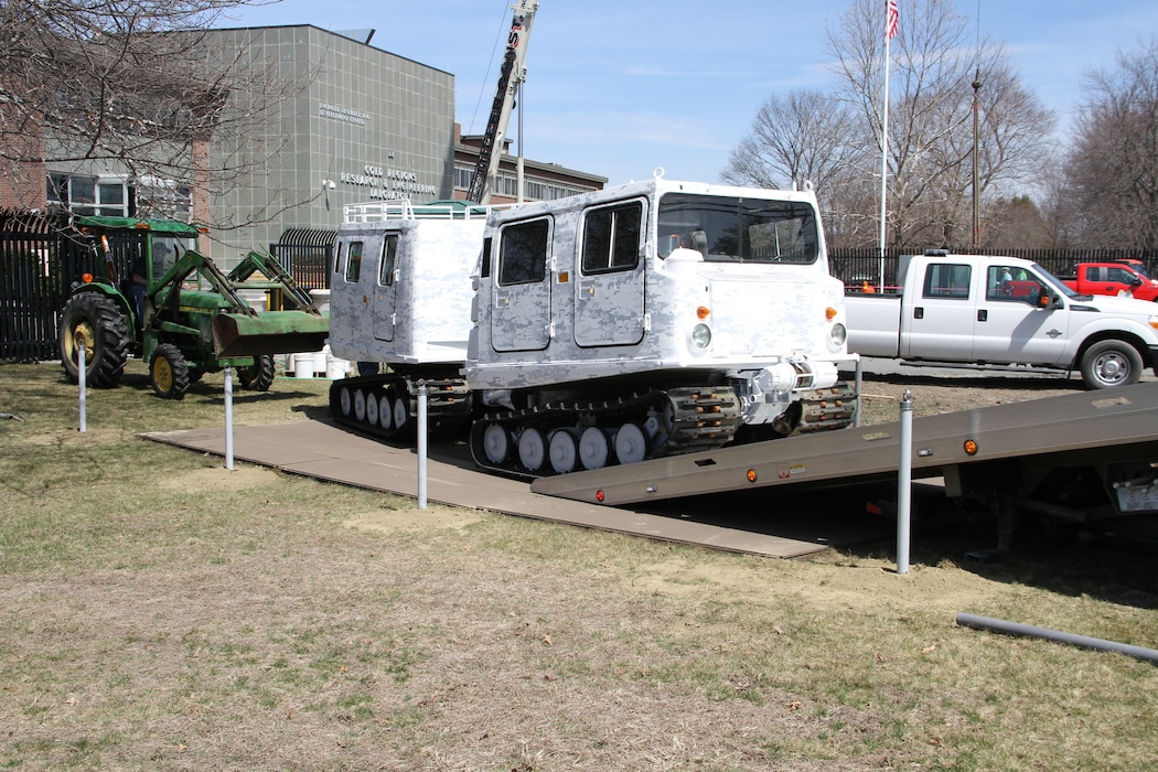Arctic transporter finds new home at Cold Regions Lab