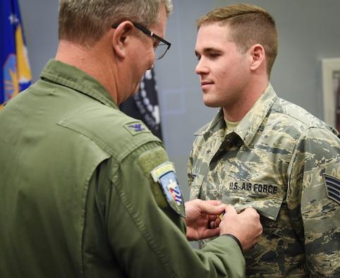 Staff Sgt. Halbert Receives Commendation Medal