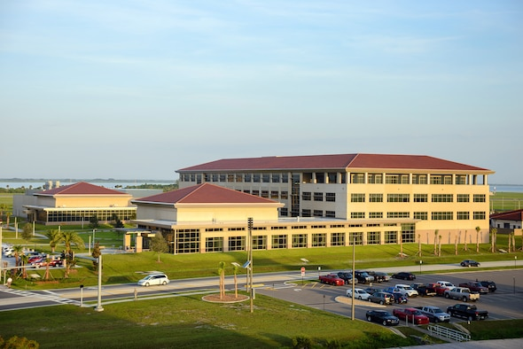 Photo of the Air Force Technical Applications Center, Patrick AFB, Fla., headquarters of the Department of Defense's sole nuclear treaty monitoring center.  (U.S. Air Force photo by Susan A. Romano)