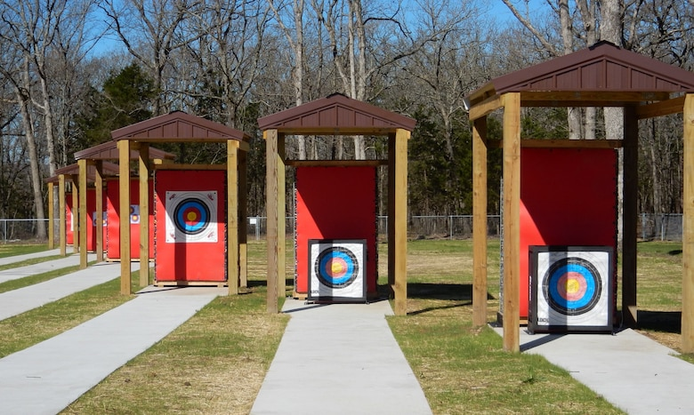 Pomme de Terre Lake near Hermitage, Missouri recently completed a six-lane archery range. The range is the only one in the area is free to use. It is handicapped accessible and has two designated lanes for school competitions. With a covered platform, users aim at targets ranging from 20 to 50 yards or 10 and 15 meters.