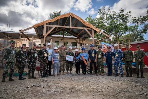 Balikatan 18: Engineering civic assistance projects underway with conclusion of groundbreaking ceremonies