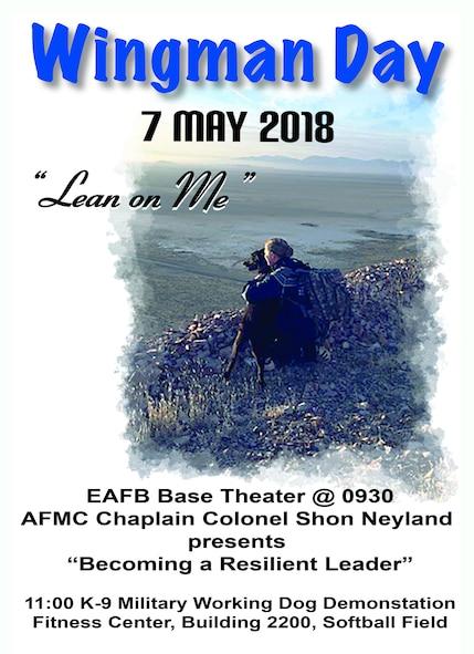 Wingman Day May 7 Poster