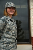 U.S. Air Force Airman Tiffany Snyder, 17th Training Wing Chapel chaplain assistant, works at Taylor Chapel on Goodfellow Air Force Base, Texas, April 25, 2018. Snyder is from one of the first classes of Airmen to graduate tech school as a chaplain assistant. (U.S. Air Force photo by Airman 1st Class Seraiah Hines/Released)