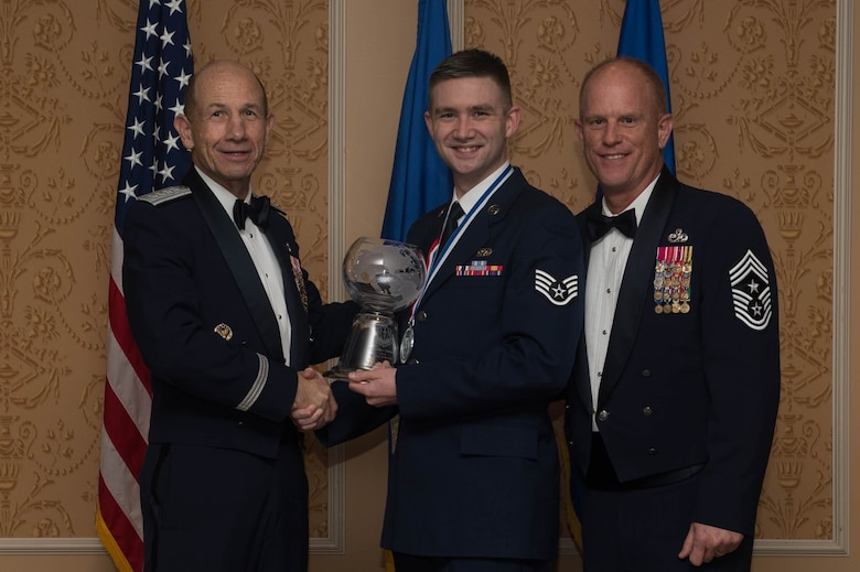 ACC Outstanding Airman of the Year, Staff Sergeant Daniel Swanson, 25th Air