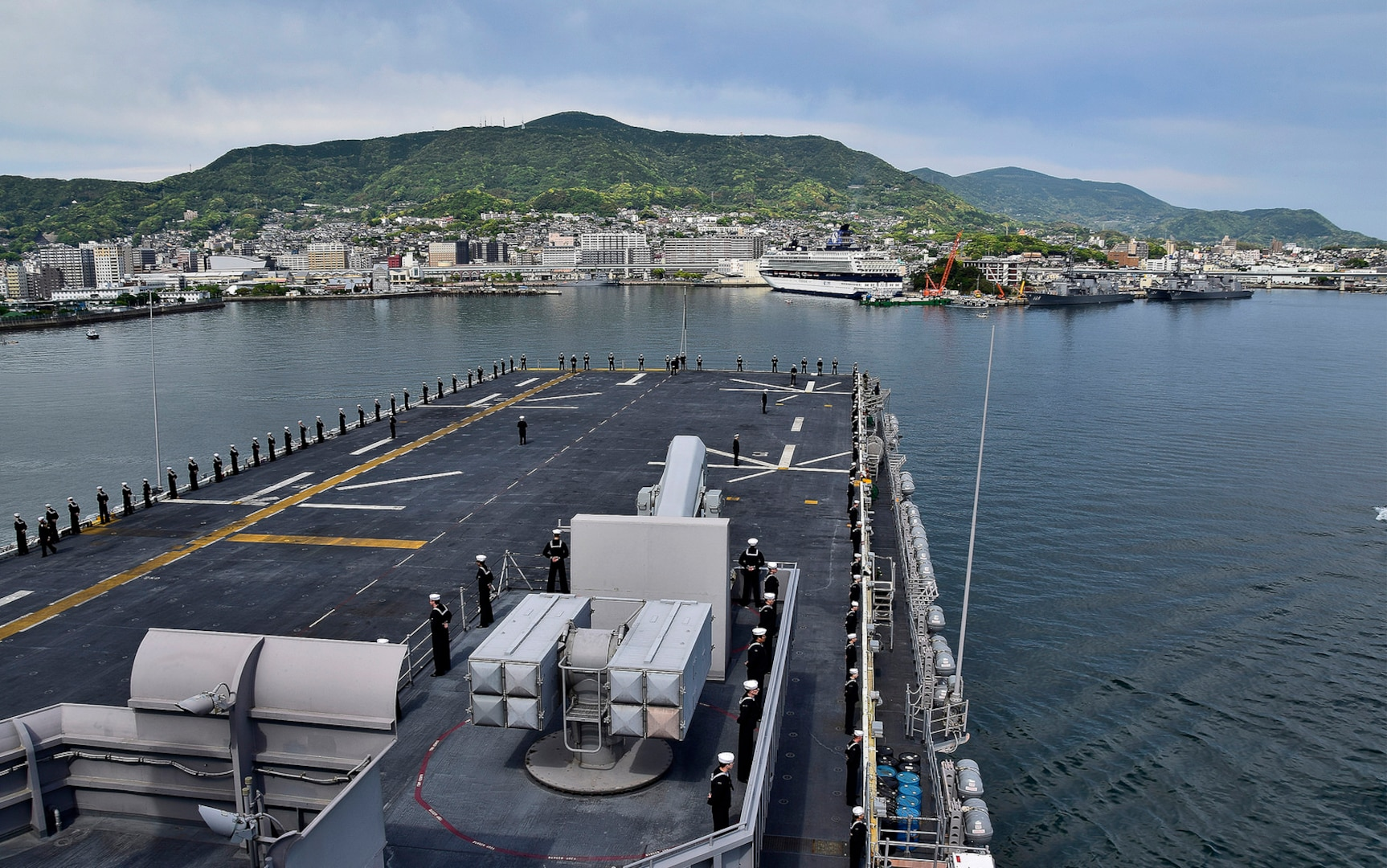 USS Wasp Completes Historic Patrol in Indo-Pacific