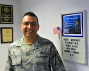 Master Sgt. Gabriel Silva, Air Force Reserve recruiter, can assist Active-Duty Airmen with transferring into the Air Force Reserve. The Palace Chase and Palace Front programs are frequently misunderstood, but the Reserve recruiting team on Ramstein Air Base can assist. (U.S. Air Force photo by Staff Sgt. Tory Patterson)