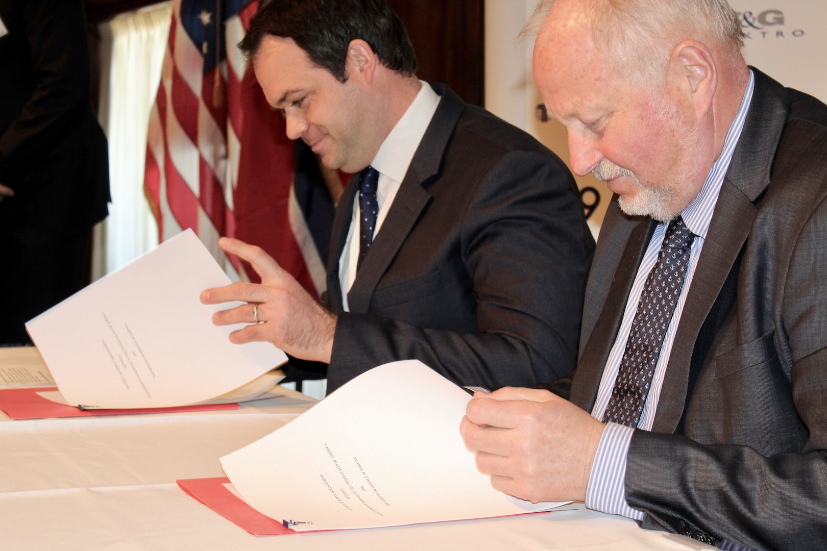 Norway Security of Supply Arrangement Signing