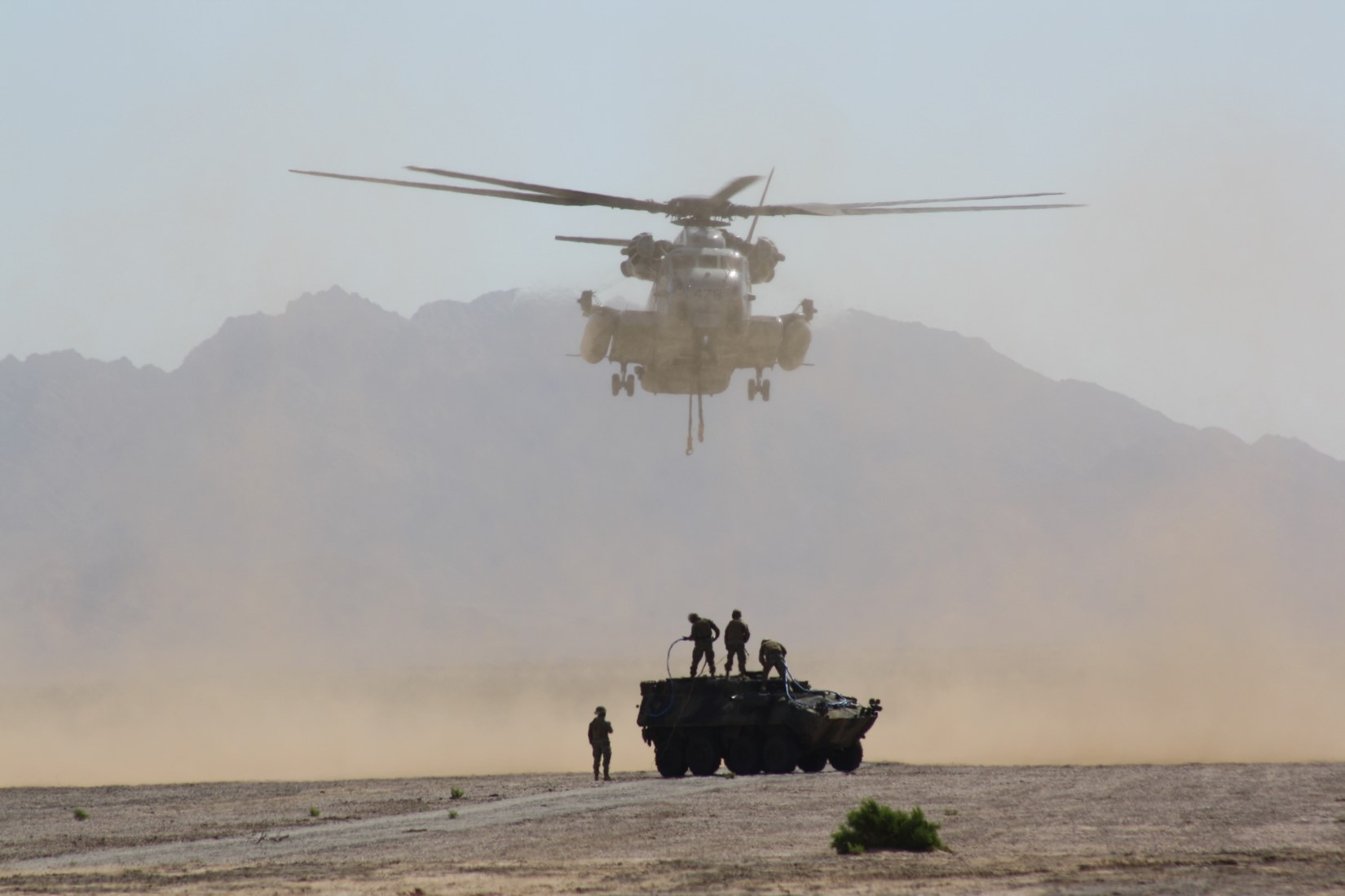 Sikorsky CH-53 Sea Stallion Supports Weapons And Tactics