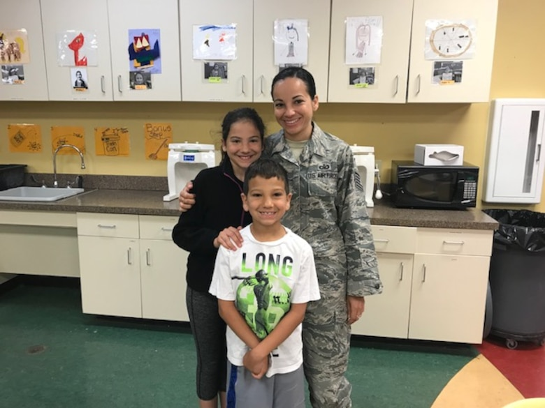 Dyess celebrates military children: Taylar Spry