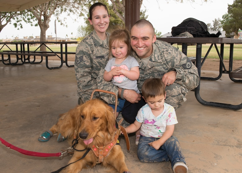Luke family's blind son awarded service dog