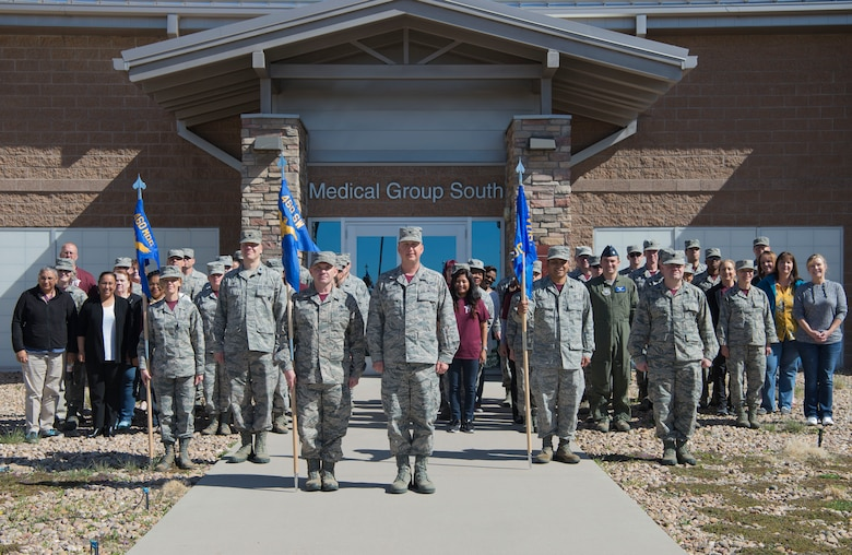 This facility was opened as part of the 460th MDG Massing the Medics initiative, which consolidated all medical services onto base for the first time since 1946. (U.S. Air Force photo by Airman 1st Class Holden S. Faul)
