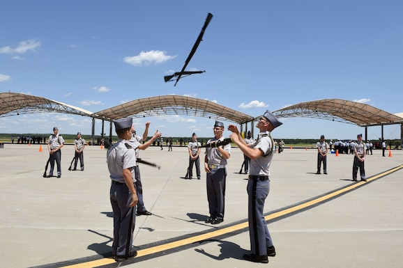 "SCANG hosts Junior ROTC ""Top Gun"" competition"