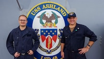 Reservists Go to Sea to Forward-Deployed Expeditionary Strike Group on Patrol