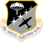 The emblem of the 492nd Special Operations Wing