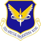 The official emblem of the 352nd Special Operations Wing.