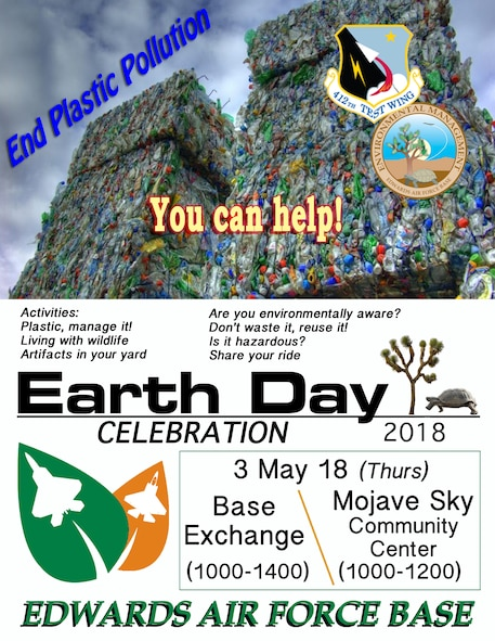 Earth Day 2018 at Edwards AFB May 3