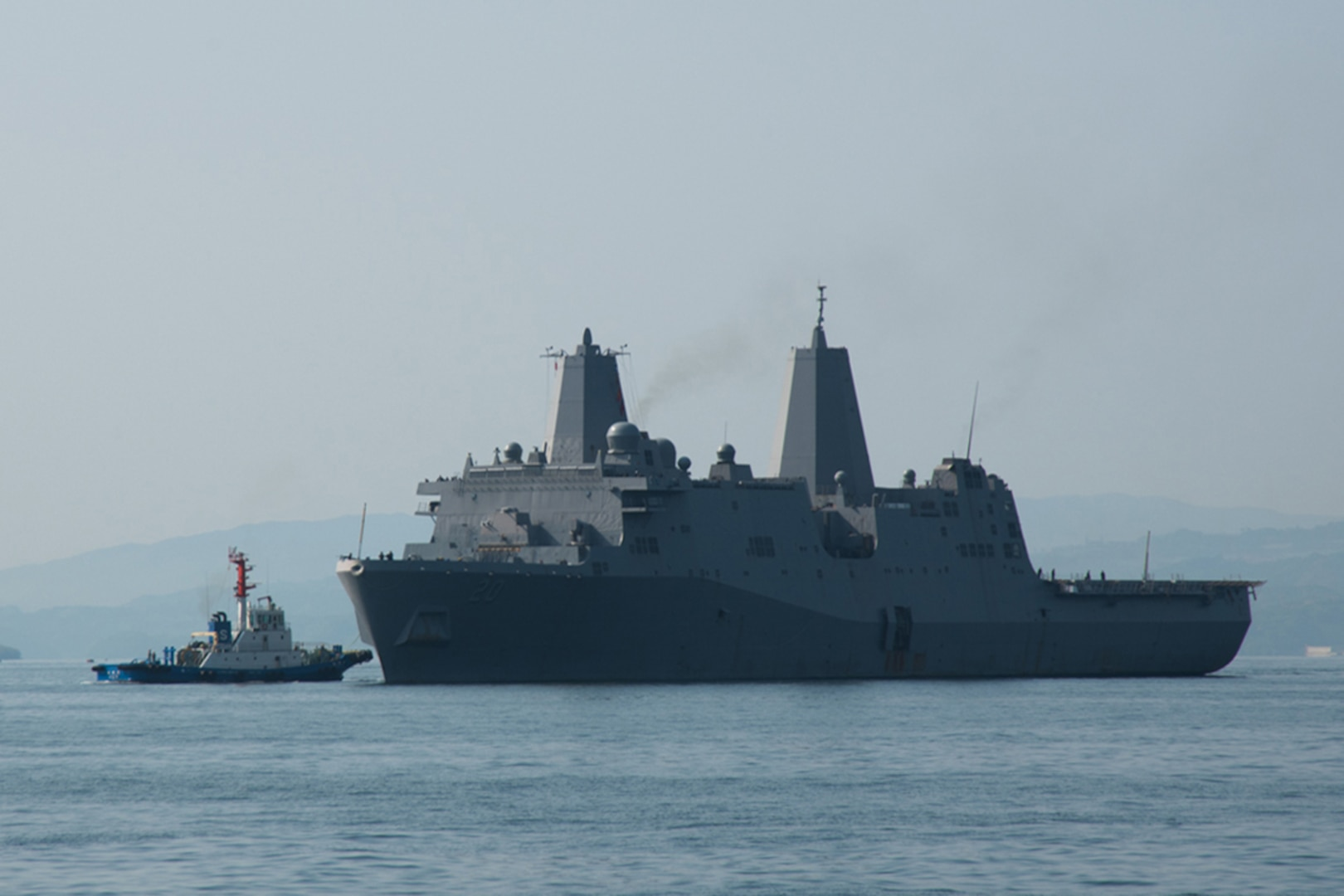 USS Green Bay returns to Sasebo after patrol with 31st MEU