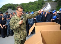 Returning to Readiness: USS Blue Ridge Marks Major Maintenance Milestone