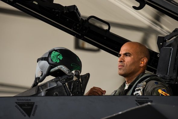 Navigating into history: 335th FS navigator eclipses 3,000 flying hours in F-15E