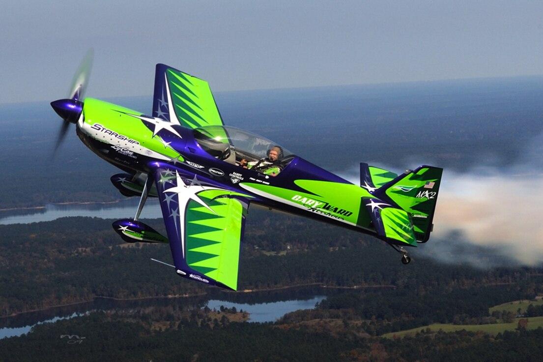 Gary Ward MX2 Aerobatic Performance