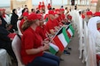 More than a dozen Soldiers with Headquarters and Headquarters Battalion, 28th Infantry Division/Task Force Spartan, attended an event at Kuwait Towers to mark the 50th anniversary of Special Olympics. The Kuwaiti event was part of a worldwide celebration July 19, 2018.