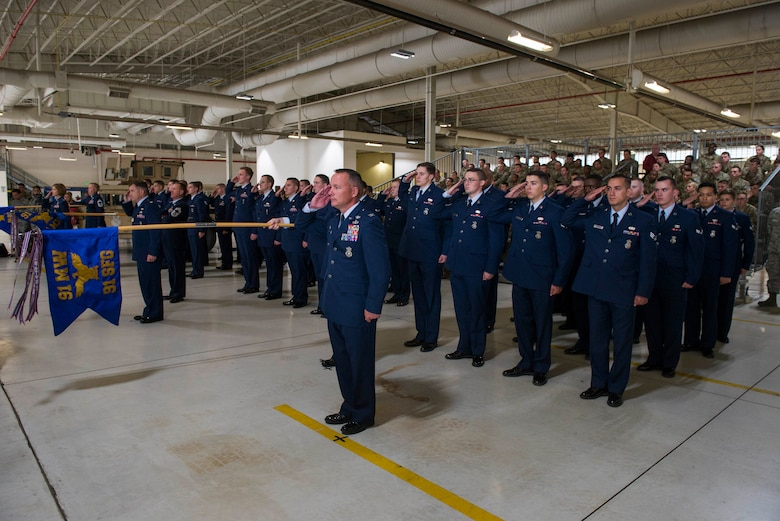 Team Minot welcomes new 91st Missile Wing commander