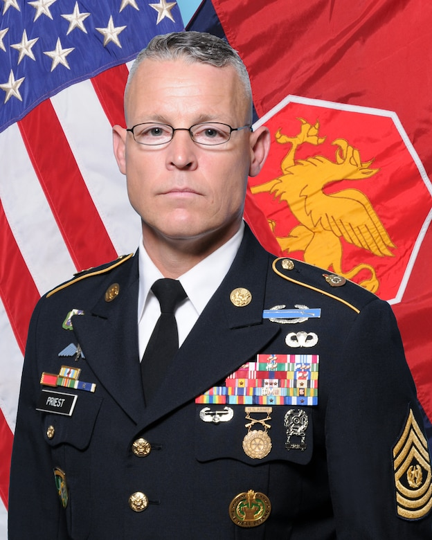 Command Sergeant Major Robert T. Priest