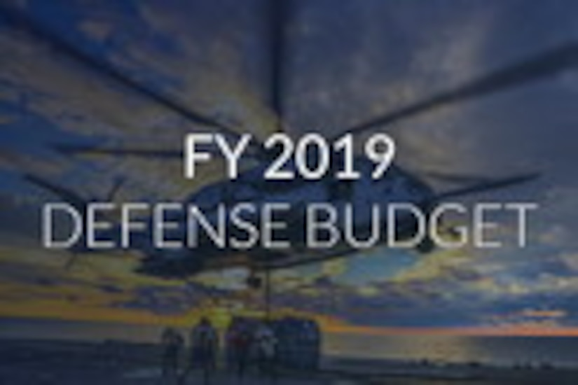 FY 2019 Defense Budget graphic