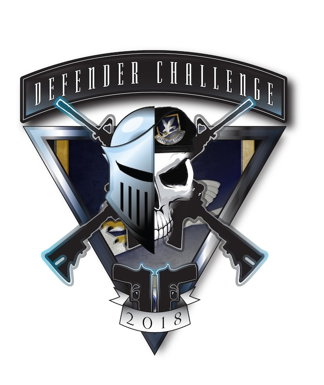 2018 Air Force Defender Challenge Logo