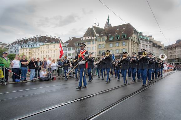 U.S. Army Europe Band and Chorus, Basel, Switzerland