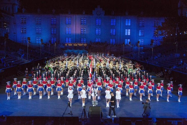 Basel Tattoo Cast