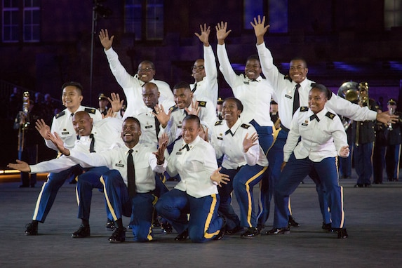 Soldiers' Chorus Performs in Basel, Switzerland