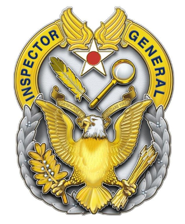 The Air Force Inspector General seal. (Courtesy graphic)