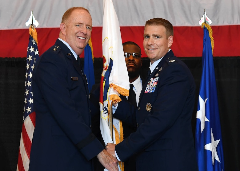Ellsworth accepts command of 66 ABG