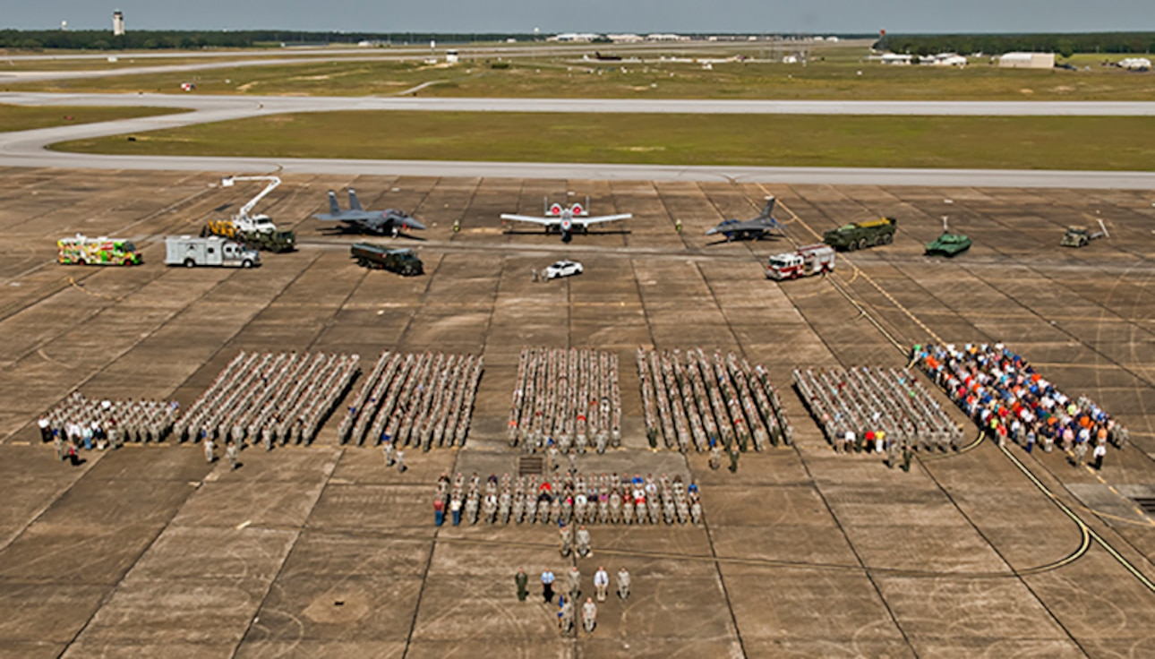 Eglin group photo