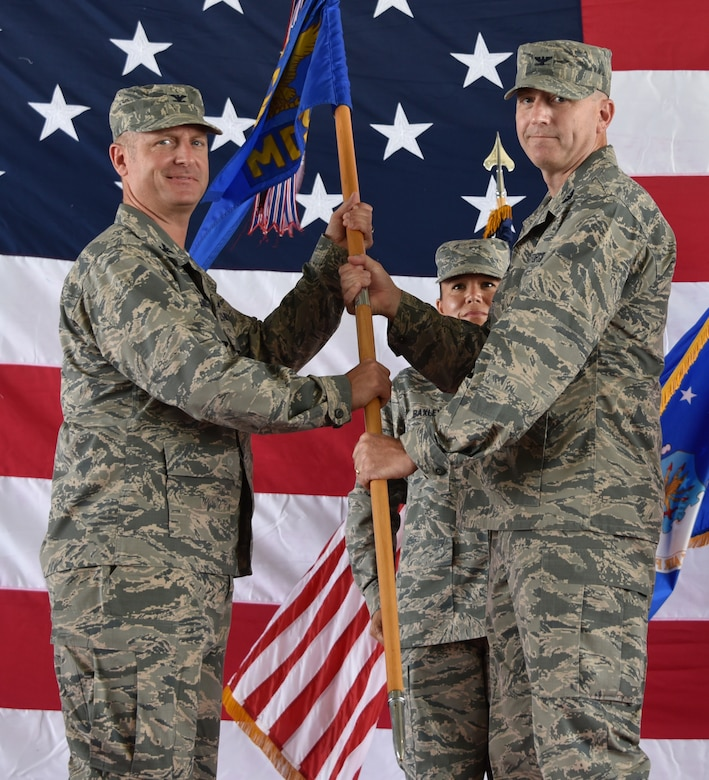 325th MDG Change of Command