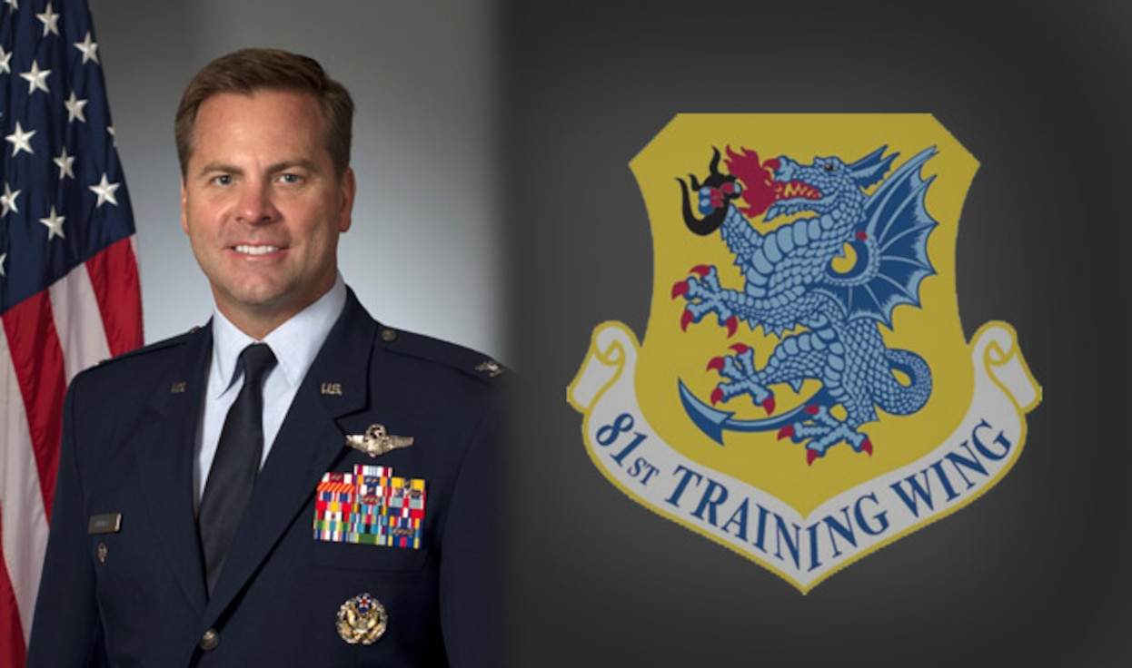 81st Training Wing Vice Commander