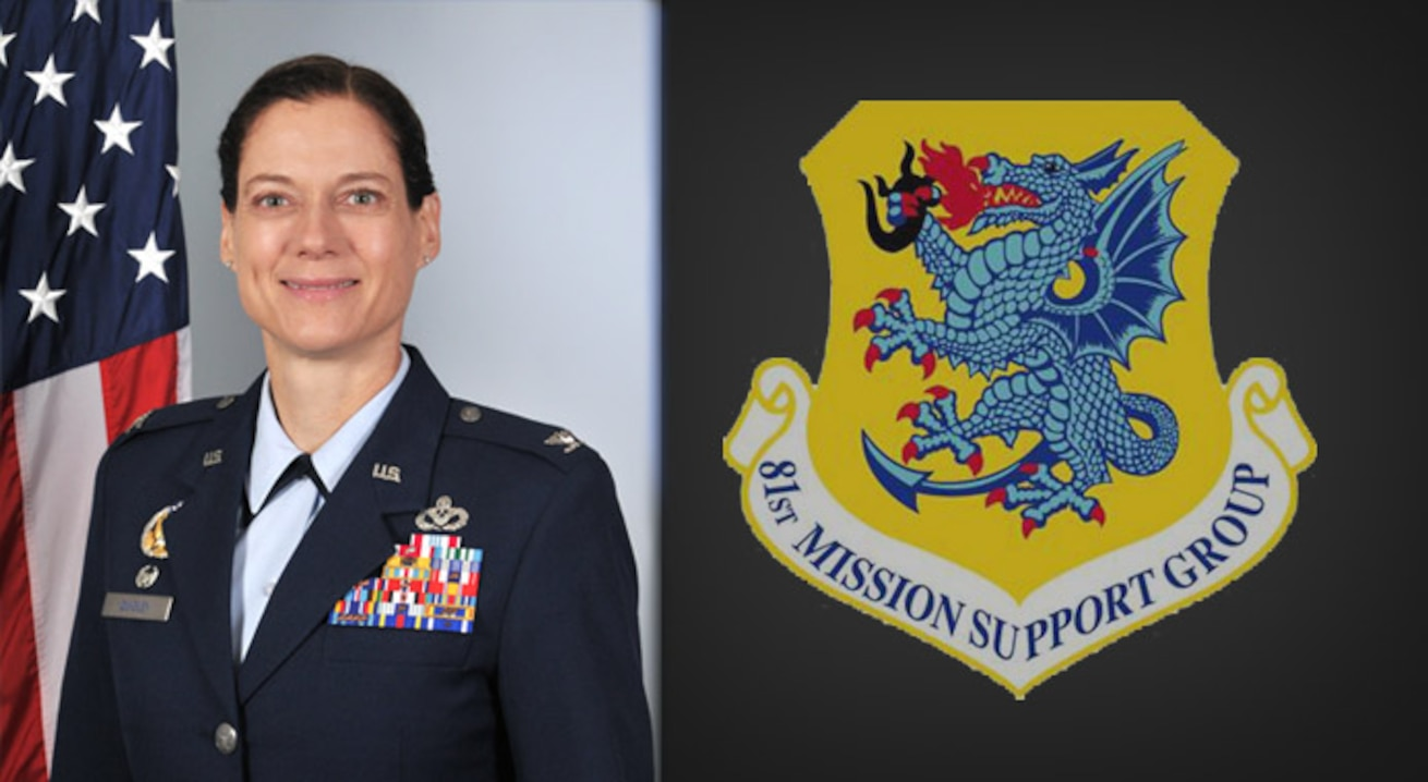 81st Mission Support Group Commander